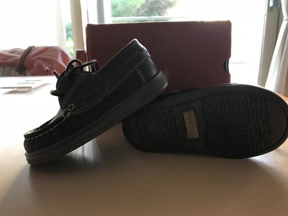 Zapatos Tipo Leñador Mimo - 1 Uso - T:21 - Color: Marrón