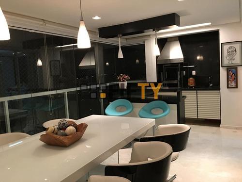 Apartamento Com 4 Dormitórios À Venda, 350 M² Por R$ 7.000.000,00 - Campo Belo - São Paulo/sp - Ap36921