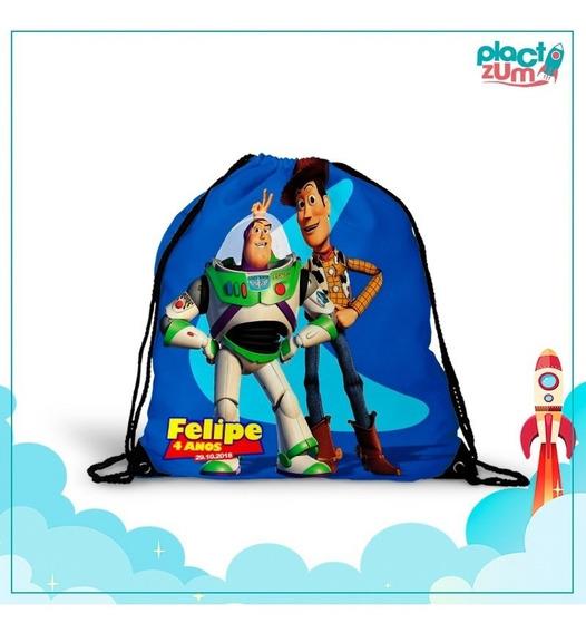 30 Mochilas Saco Lembrancinha Festa Toy Story 4