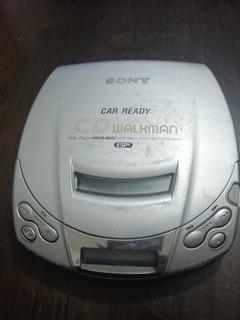 Walkman Sony Cd Player D-e 206 Vck