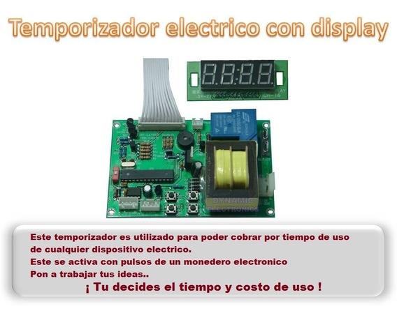 Temporizador 110v Monedero