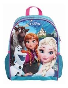 Mochila Infantil Costas Frozen Elsa Original