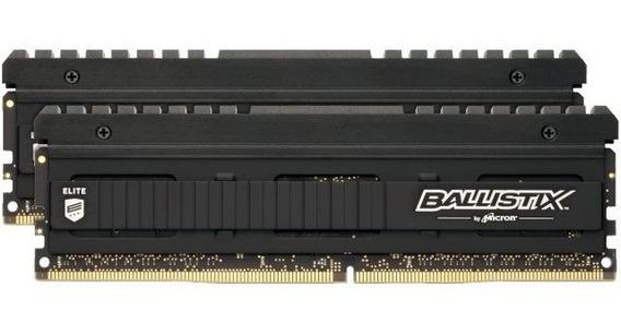 Memória Ram 16gb 2x8gb Crucial Ballistix Elite Ddr4 2666mhz