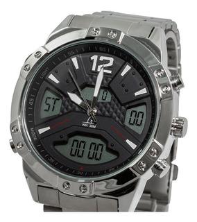 P1812as-m0701 - Reloj Pegaso Metalico Pulso Acero Ana-d.
