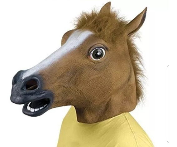 Caballo Loco Mascara Horseman Disfraz Bojack