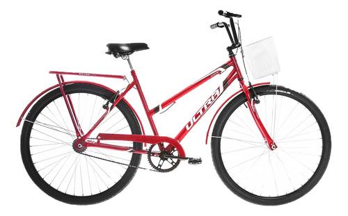 Bicicleta Aro 26 Ultra Bikes Poti Wave V-brake Com Paralamas
