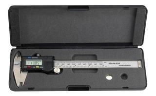 Calibre Digital Bahco 1150d Milimetro Y Pulgada 0-150mm 0,01 Con Estuche Y Pila Origen Taiwan