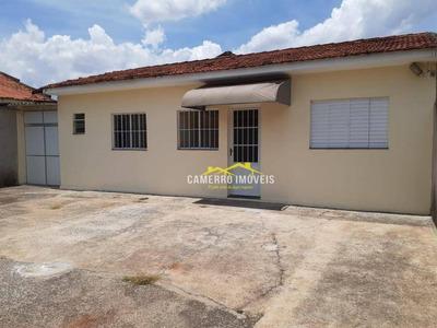 Casa Com 1 Dormitório Para Alugar, 55 M² Por R$ 750/mês - Parque Residencial Jacyra - Santa Bárbara D