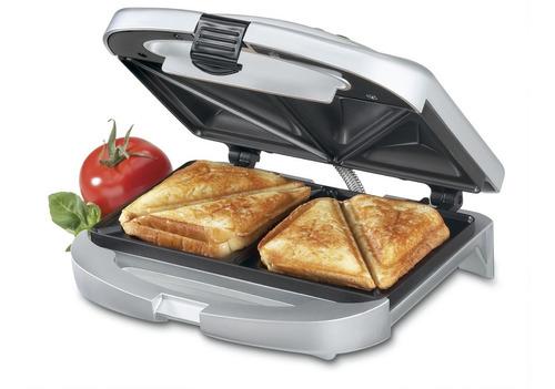 Sandwichera Eléctrica Clásica Cuisinart Wm-sw2nes