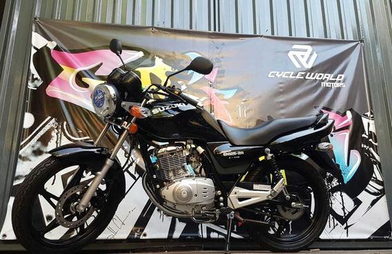 Moto Suzuki 125 En 0km 2019 Disponible Hasta El 22/02