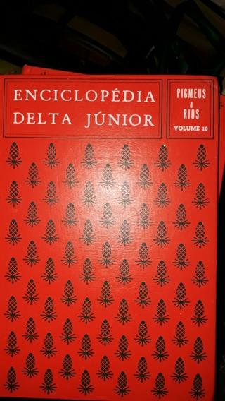 Enciclopédia Delta 11 Volumes Em Otimo Estado Urgente