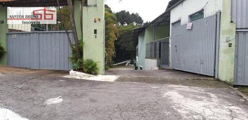Galpão Para Alugar, 1500 M² Por R$ 14.000,00/mês - Jaraguá - São Paulo/sp - Ga0102