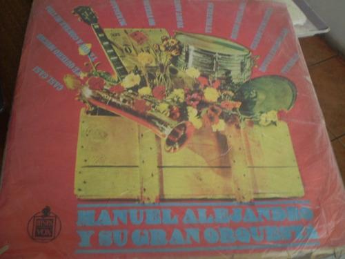 Vinilo De Manuel Alejandro Y Su Orquesta (u975