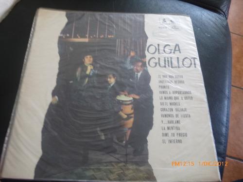 Vinilo Lp De Olga Guillot La Orquesta De Nacho Rosales (u262