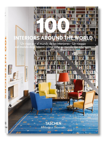 100 Interiors Around The World (t.d) -bu-