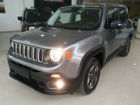Jeep Renegade, Entrega Inmediata, Anticipo Y Ctas, Tasa 0%