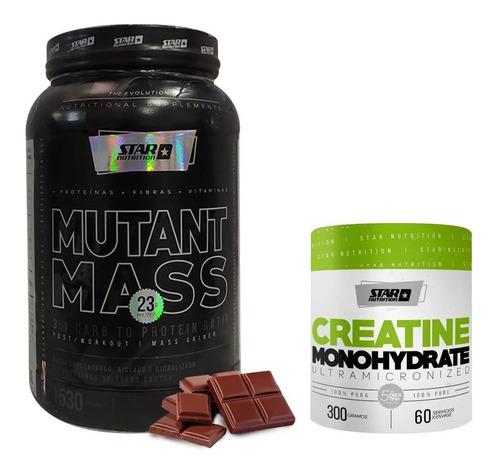 Mutant Mass 1.5 Kg Ganador De Peso + Creatina 300grs Star