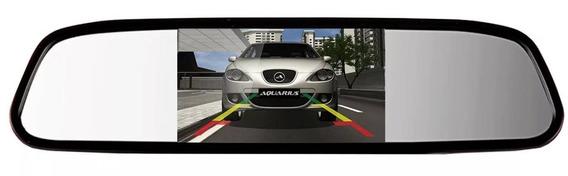 Espelho Retrovisor Monitor Para Câmera De Ré Tfl Lcd 4.3 V