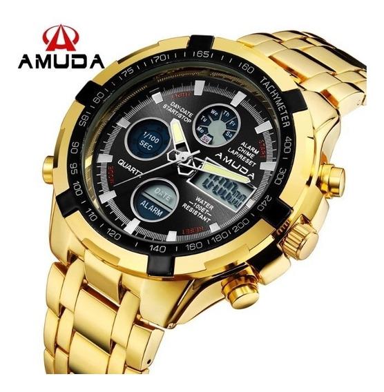 Relógio Amuda De Luxo Masculino