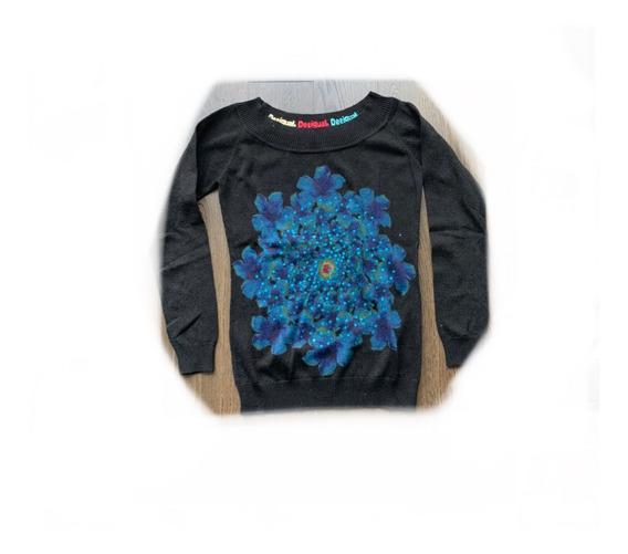 Suéter Desigual Mujer Negro Mantra