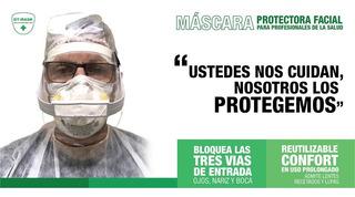Mascara Protectora Facial Reutilizable X 10un.