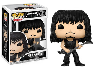 Funko Pop Metallica - Kirk Hammett # 59 - Proxyworld