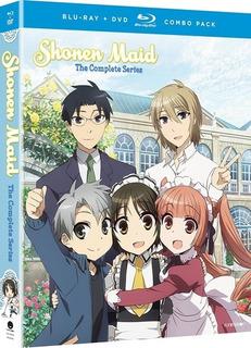Seth Magill Shonen Maid The Complete Series Blu-ray Us Imp
