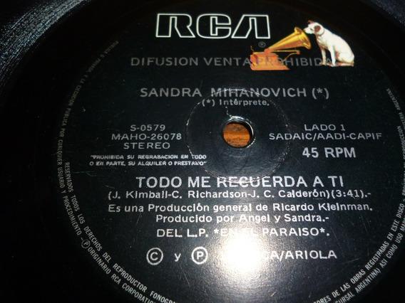 Lp Vinilo - Simple -sandra Mihanovich -todo Me Recuerda A Tí