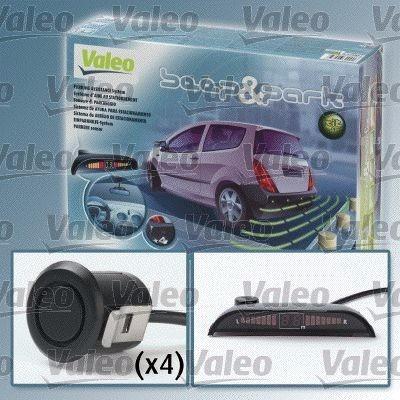Imagen 1 de 2 de Sensor De Reversa (kit-4 Sensores) Beep & Park Valeo 632001