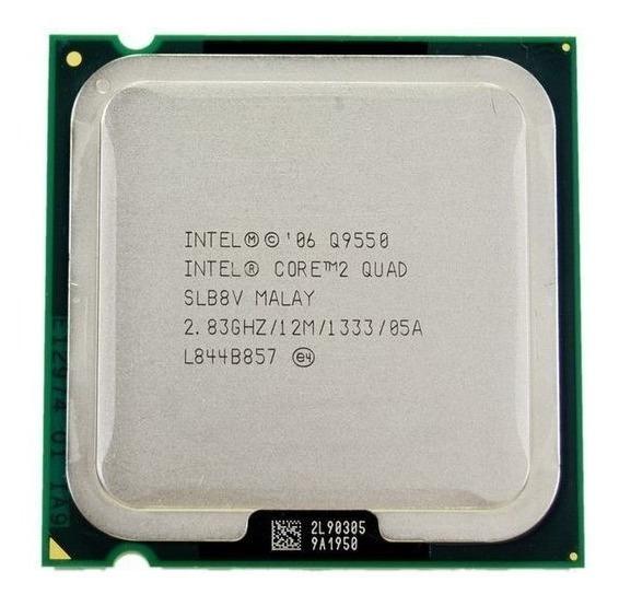 Proc Desk Intel 775 Core 2 Quad Q9550 2.8ghz Oem