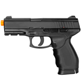 Pistola De Airsoft Spring Black 24/7 6mm - Cybergun U Un