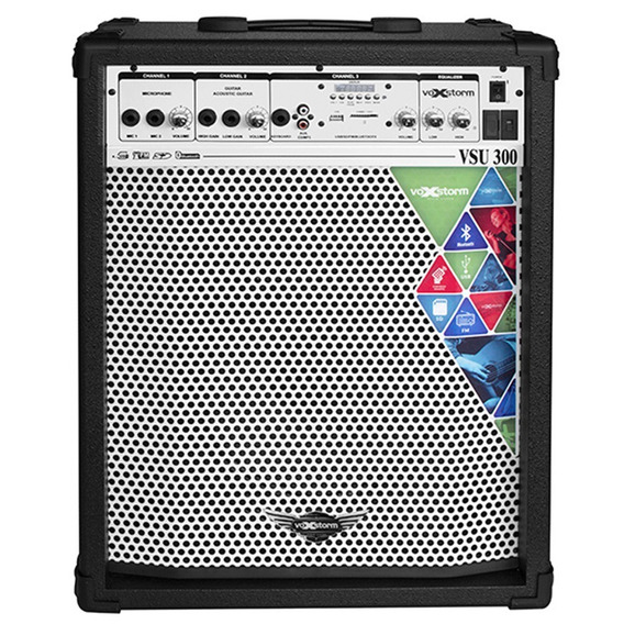 Caixa Multiuso Voxstorm Vsu 300 Usb - Cubo Vsu300 40w 10