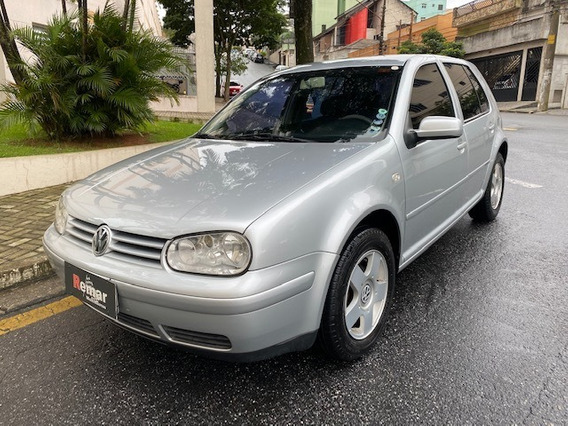 Vw Golf 1.6 8v 2005generation Completo + Couro + Ar Digital