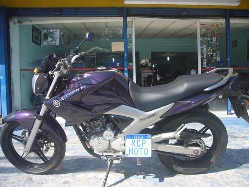 Yamaha Fazer 250 Roxa Ano 2012 Nova Troca Financia Cartão