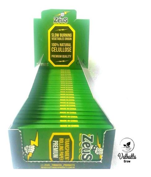 Papel Celulosa 100% Natural Zeus Transparent Valhalla Grow