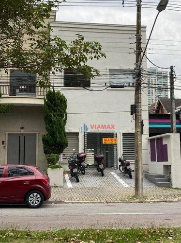 Imagem 1 de 1 de Ponto Para Alugar, 200 M² Por R$ 12.000,00/mês - Jardim Aquarius - São José Dos Campos/sp - Pt0100