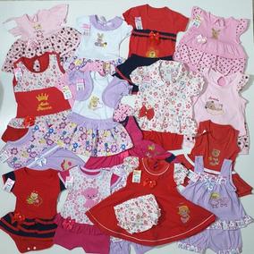Roupa Bebê Menina Infantil Kit 50 Conjuntos Feminino Atacado
