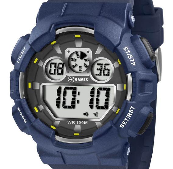 Relógio Xgames Masculino Xmppd344 Bxdx Digital Azul