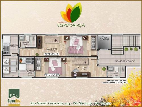 Apartamento - Venda - Vila Sao Jorge - Sao Vicente - Fd189