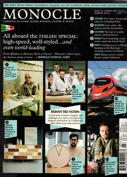 Monocle Revista De Cultura Global - Promoção 3 Revistas