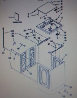 Lavadoras E Secadoras Peças Whirlpool Importadas Usa