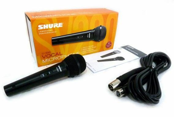 Microfone Sv 200 Shure Original Envio Imediato Shure Sv 200