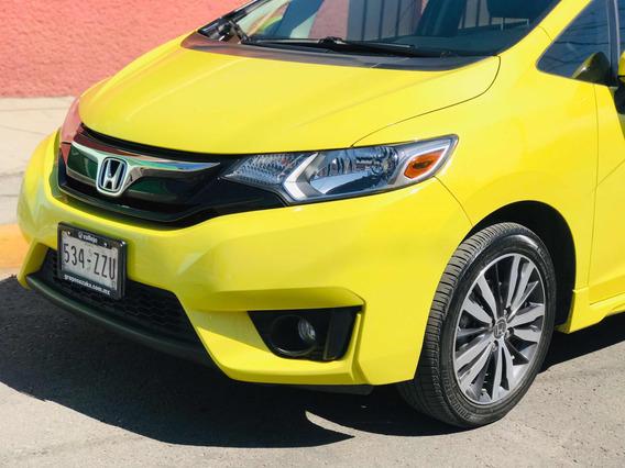 Honda Fit 1.5 Hit L4 At 2015 Asientos En Piel Unico