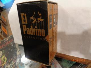 El Padrino Coleccion Box Set 3 Peliculas Vhs Parte 1, 2 Y 3