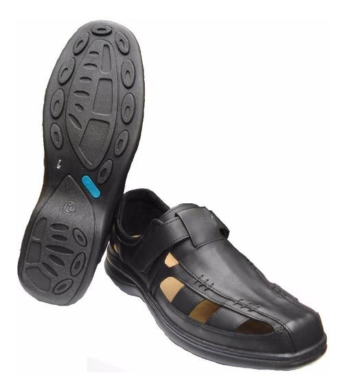 Sandalias Franciscanas Zapato De Cuero Base Febo 46 Al 50