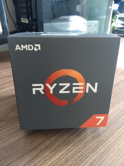 Processador Amd Ryzen 7 1700 C/ Wraith Spire Cooler