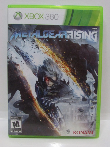 Metal Gear Rising Revengeance - Xbox 360 Original Completo