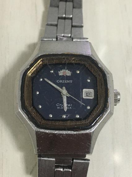 Relógio Orient Feminino Para Conserto Calibre 49741 Co.61