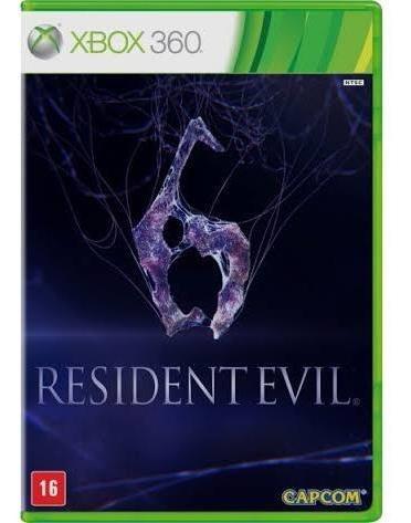 Resident Evil 6 Xbox 360 Original Semi Novo