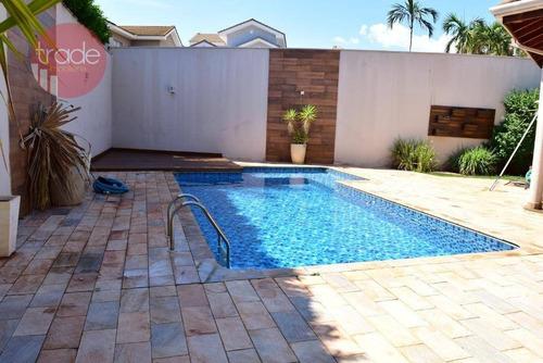 Imagem 1 de 30 de Casa Com 4 Dormitórios À Venda, 385 M² Por R$ 1.802.000,00 - Condomínio Santa Monica - Ribeirão Preto/sp - Ca3859